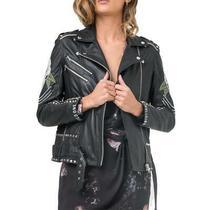 Jacket Blush Biker Religion Black Women Photo