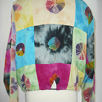 Jacket by Cotton Express  Size Med Cotton Rayon Pre Owned Photo