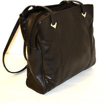 Jaclyn Smith Brown Soft Genuine Leather   Hobo / Shoulder Handbag  Photo