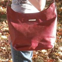 Jaclyn Smith Purse Red Handbag Set 3 Piece Matching Lot Photo