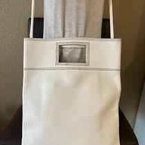 Jacobs by Marc Jacobs Handbag White Leather Shoulder Bag Clutch Crossbody Photo