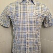 James Campbell Checkered Button Down Shirt- Size M Photo