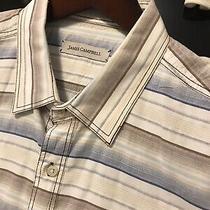 James Campbell Mens Shirt - Short Sleeves - Multicolor - Size Xl - Euc Photo