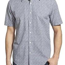 James Campbell New Blue Mens Size Large L Button Down Shirt 80 637 Deal Photo