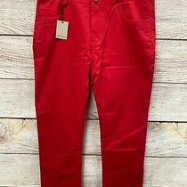James Campbell Pants Mens Size 35x32 Washed Twill Five Pocket Stretch Pants New  Photo