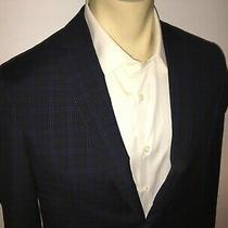 James Campbell R-Sunbury Navy Blazer Suit Jacket Size 40r Photo