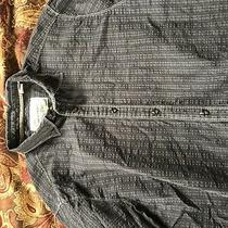 James Campbell Xl Black Long Sleeve Button Down Shirt Mens Photo