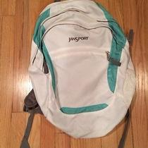 Jan Sport Student Backpack - White Photo