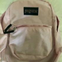 Jan Sport Super Break School Laptop Backpack Book Bag Classic Pink  Photo