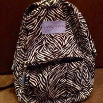 Jan Sport Zebra Backpack Photo