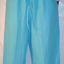 Jane Ashley Elastic Pants - Aqua - Size Small - New With Tags Photo