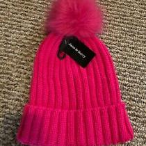 Jane & Berry Womens Girls Winter Knit Hat Beanie Hot Pink Photo