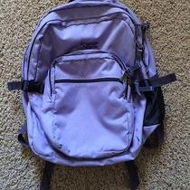 Jansport 4 Pocket Backpack College Camping School Bag. Purple Photo