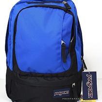 Jansport Air Cure Blue Laptop Student Backpack Photo