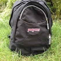 Jansport Airlift Backpack Black Hiking Pack School College Daypack Eucl Photo