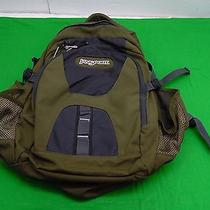 Jansport Airlift Backpack Green  Hiking Pack School College Daypack Photo