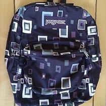 Jansport Backpack Bag Purple Photo