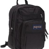 Jansport Backpack Big New School Bag Black Outdoor Storage Books Photo