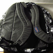 Jansport Backpack Black White Photo