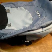 Jansport Backpack Blue and Black Photo