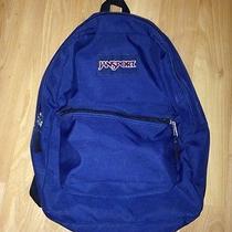 Jansport Backpack Blue/black Photo