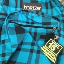 Jansport Backpack - Blue Plaid Photo