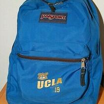 Jansport Backpack Blue With Ucla Bruins 1919  Photo