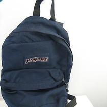 Jansport Backpack Book Bag Laptop Case Blue Photo