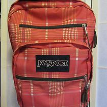 Jansport Backpack Book Bag Pink Euc Photo