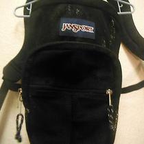 Jansport Backpack Bookbag Gym Bag Swimming See Through Black Photo