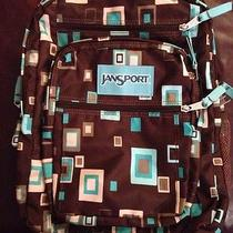 Jansport Backpack Brown Teal  Photo