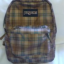 Jansport Backpack. Brown / Teal Photo