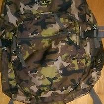 Jansport Backpack Camoflage Green Photo