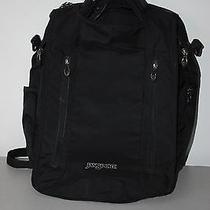 Jansport Backpack Computer Bag Black Plenty of Pockets Nice Condition Photo