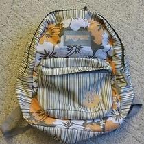 Jansport Backpack Floral Print Photo