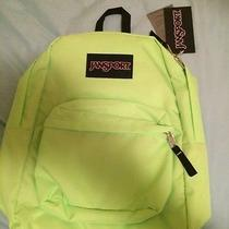 Jansport Backpack Flourescent Green Photo