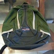Jansport Backpack -Green- Photo