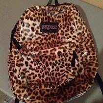Jansport Backpack - Leopard Print  Photo