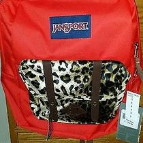 Jansport Backpack Leopard Print Photo