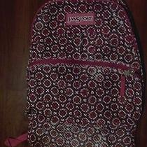Jansport Backpack Mesh Pink Big Seethrough Pool Summer Student Beach Daypack Photo