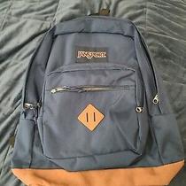 Jansport Backpack Navy Blue Photo