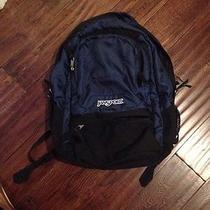 Jansport Backpack Navy With Laptop Sleeve Photo