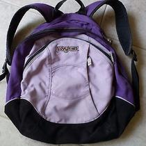 Jansport Backpack Purple Photo