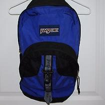Jansport Backpack Purple and Black Photo