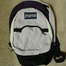 Jansport Backpack Purple & Black Photo