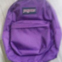 Jansport Backpack Purple Night Photo