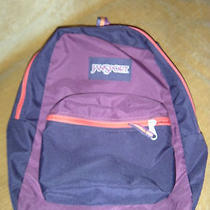 Jansport Backpack  Purple Pink Photo