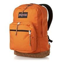 Jansport Backpack Right Pack Monochrome Tiger Orange With Laptop Sleeve Photo