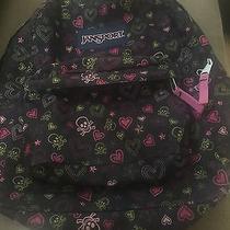 Jansport Backpack Skulls and Hearts Photo