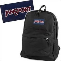 Jansport Backpack Superbreak School College Authentic Student Daypack Black Photo